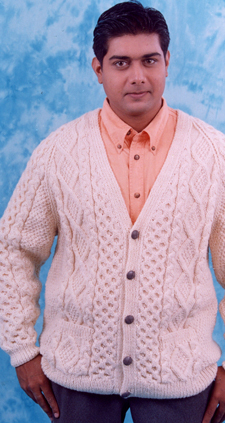 how to make woolen sweater by hand in hindi